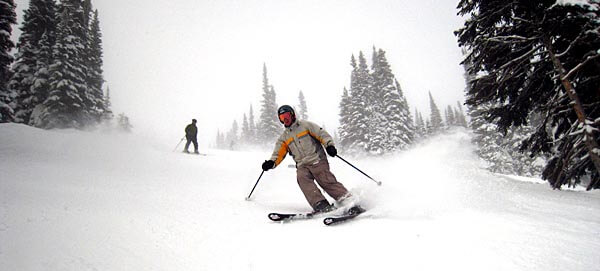 Whistler Blackcomb ski runs