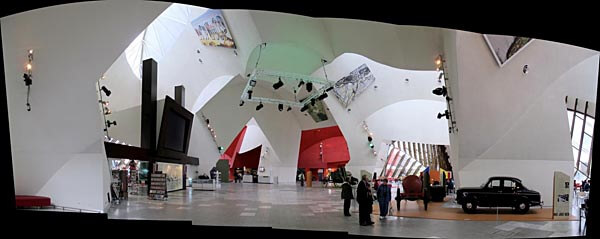 Inside the National Museum of Australia