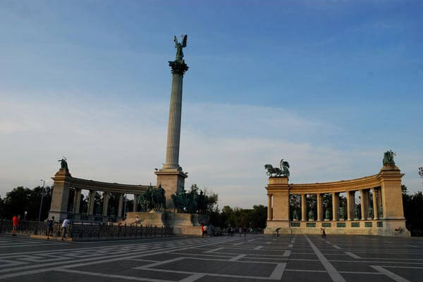 Hosok Tere, Heroes' Square, Budapest