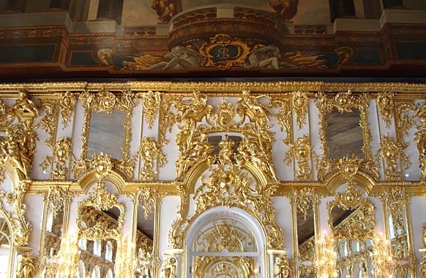 Interior of Catherine's Palace, Russia