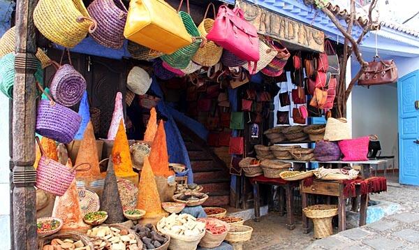 The Uta el Hammam market in Chefchaouen