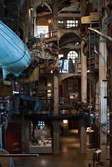 Inside the Mercer Museum, Doylestown