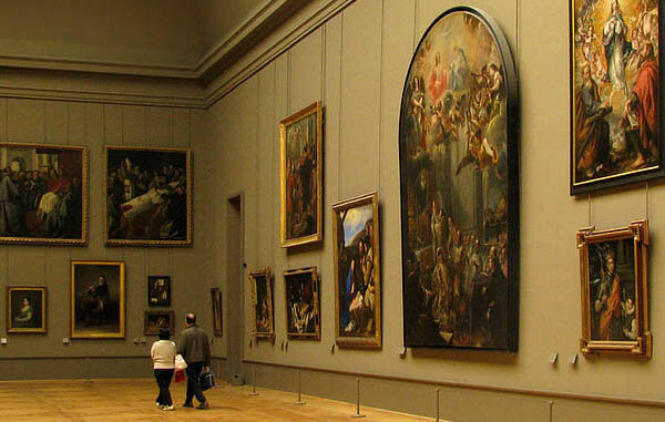 Gallery in the Louvre