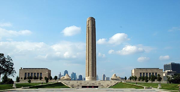 The impressive Liberty Memorial in Kansas City