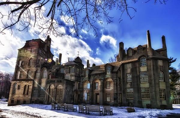 Fonthill Castle, the home of Henry Chapman Mercer