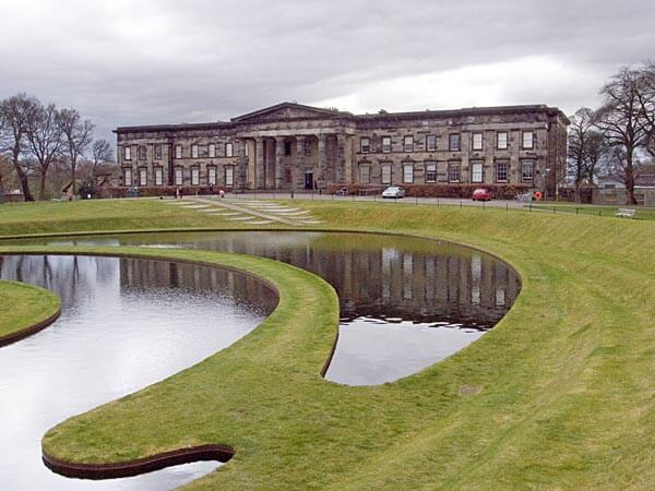 The site of the Scottish National Gallery of Modern Art