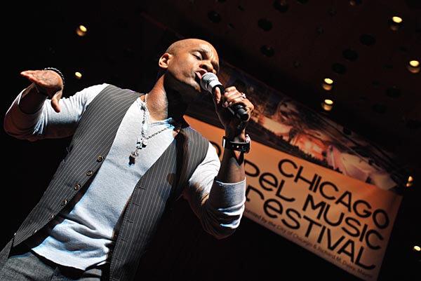 Performer at the Chicago Gospel Festival