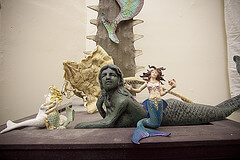 Mermaids at the Cryptozoology Museum
