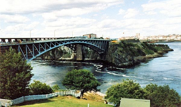 The Reversing Falls, New Brunswick, Canada