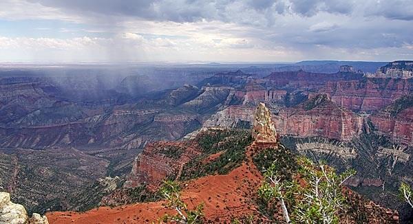 The Grand Canyon in Arizona
