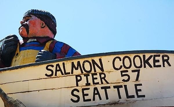 Sign at Pier 57