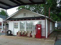 Billy Carter's Service Station, Plains, GA