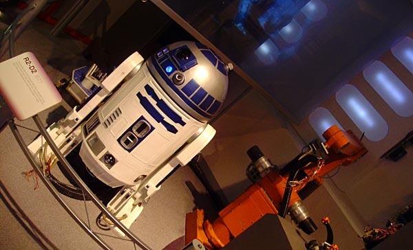 Roboworld display at Carnegie Science Center
