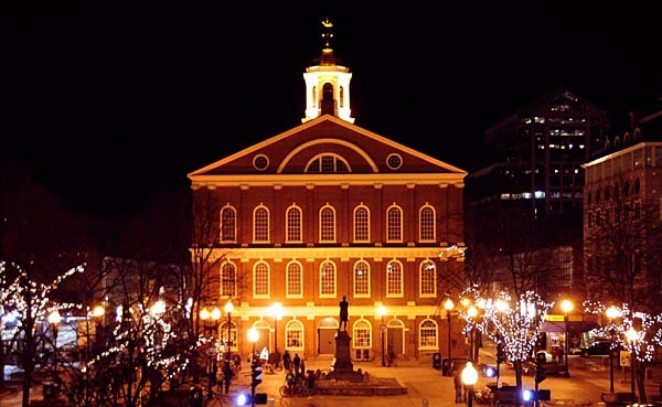 The Faneuil Hall in Philadelphia