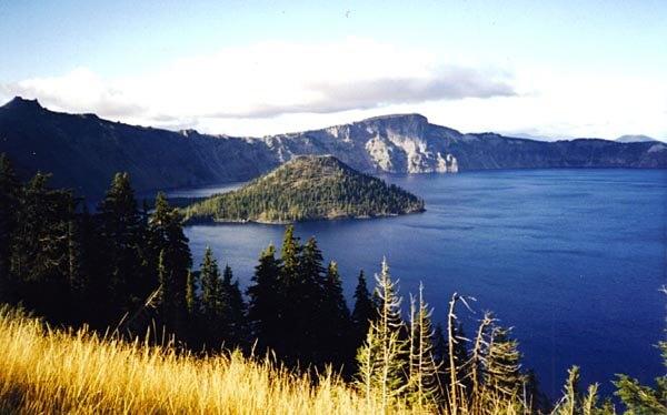 Wizard Island, Oregon