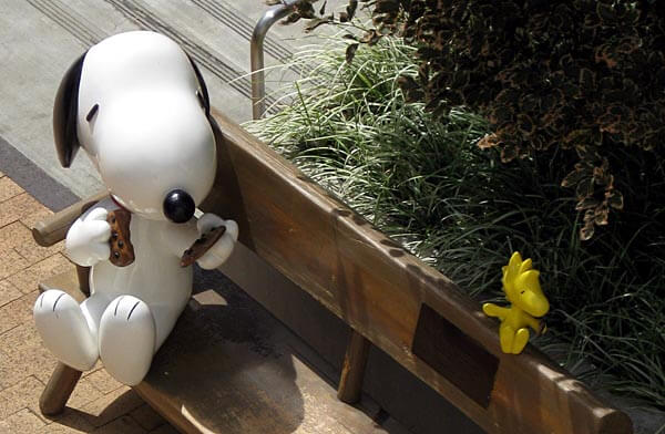 Statue of Snoopy, Santa Rosa