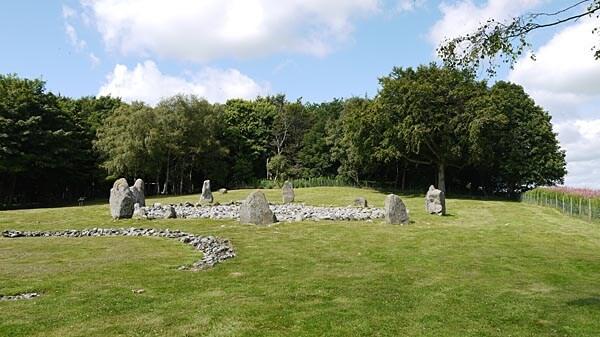The Loanhead of Daviot stone circle, Scotland
