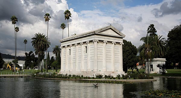 The Hollywood Forever Cemetery