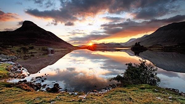 Sunrise in Snowdonia