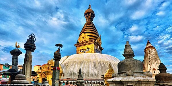 The Swayambhu Stupa