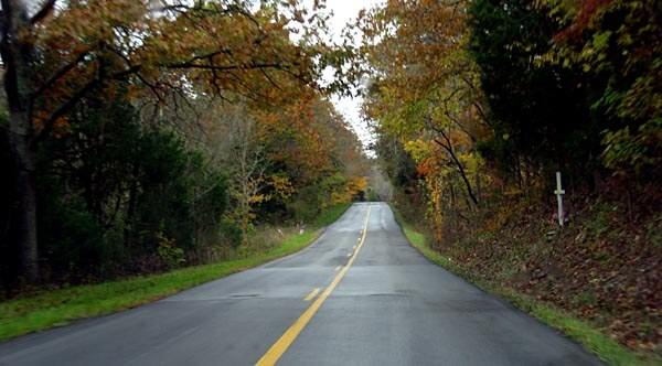 Scenic road in Kentucky