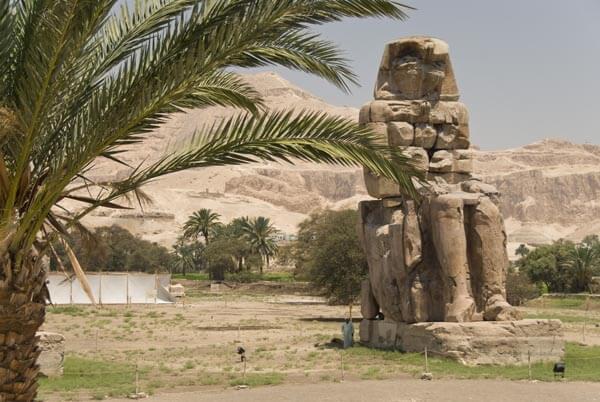 The Colossi of Memnon in Luxor
