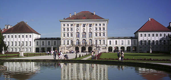 The Schloss Nymphenburg Palace in Munich