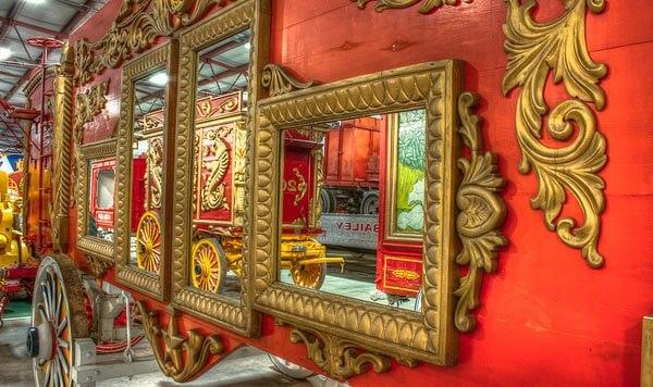 Circus wagon at the Circus World Museum