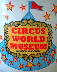 Circus World Museum sign