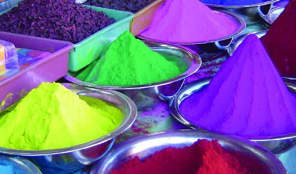 Paint for Holi Festival