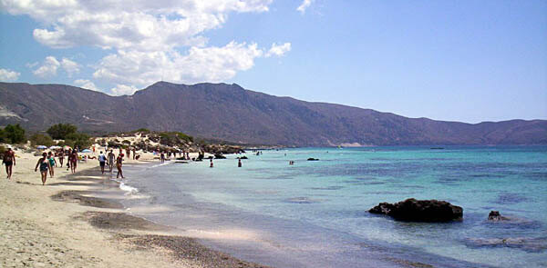 Elafonisi Beach near Crete