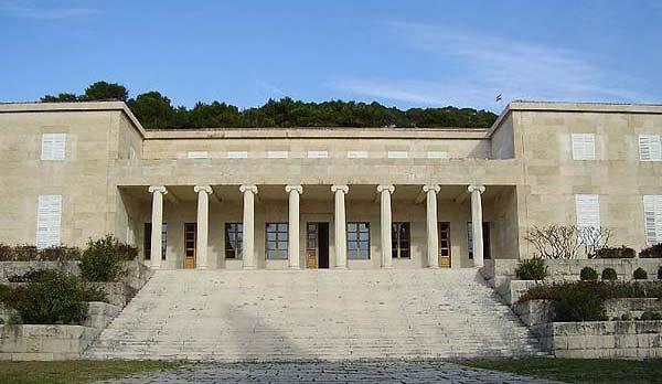 The Mestrovic Gallery in Split