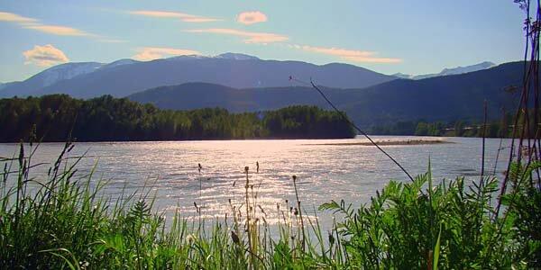 The Skeena River in British Columbia, Canada