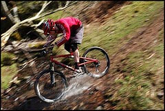 Cycling singletrack