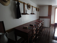 Shaker classroom at South Union
