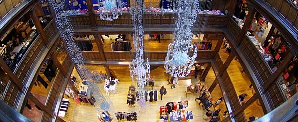 The main floor at Liberty London