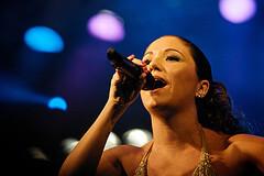 Singer at Virada Cultural