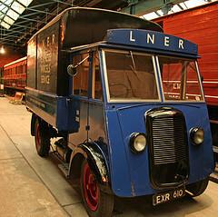 Railhead to door delivery car