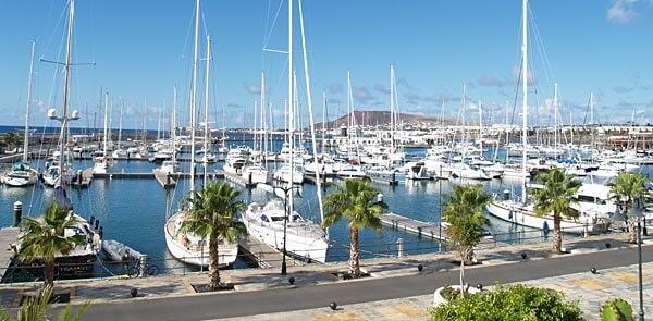 Marina in Lanzarote