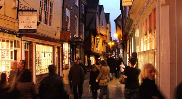 The Shambles area of York