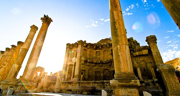 The Cathedral in Jerash, Jordan