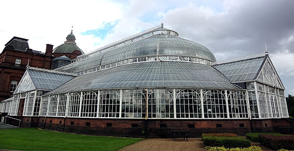 Winter Gardens in Glasgow