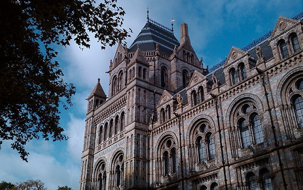 The Natural History Museum in South Kensington, London