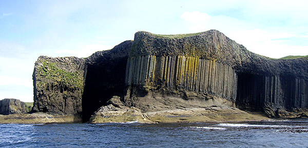 The Cliffs on Staffa and Fingal's Cave