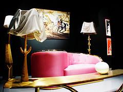 Inside Espace Dali