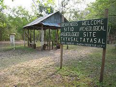 Tayasal entrance