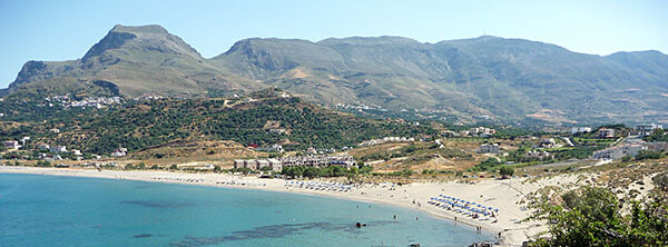 Bay in Crete