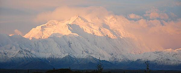 Mount McKinley in Alaska