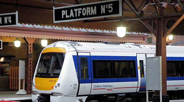 Moor Street Station platform, Birmingham