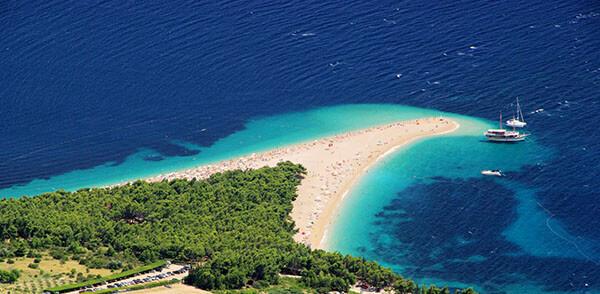 Croatia's Golden Horn Beach in Brac